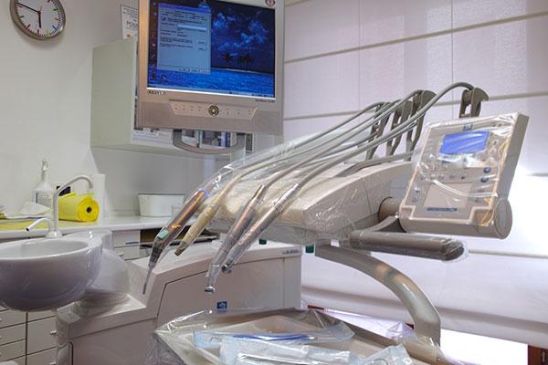 Studio Dentistico Laura Leo - Photo studio - Informatizzazione sala blu