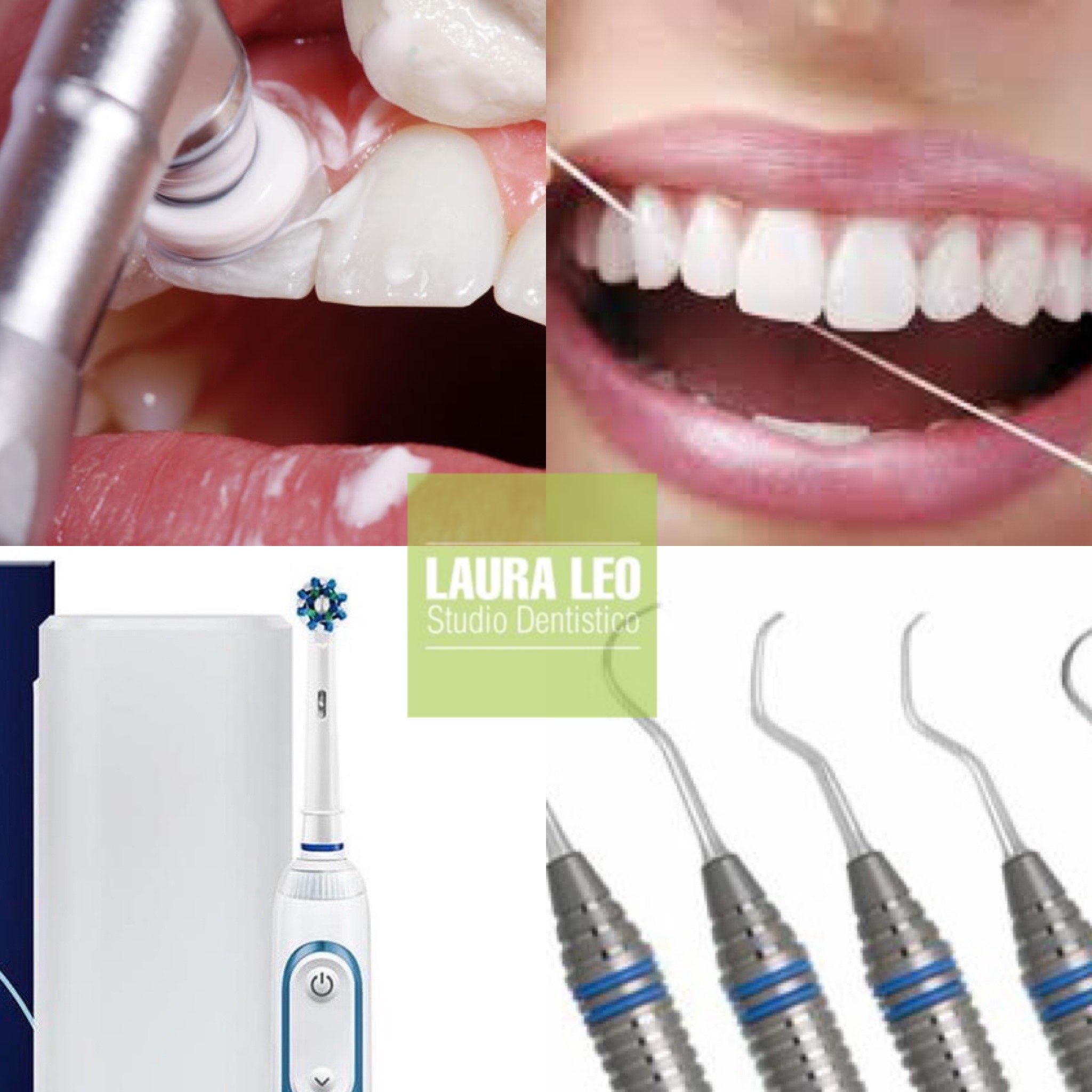 Studio Dentistico Laura Leo - Terapie - IGIENE E PROFILASSI